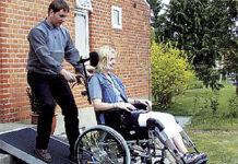 Przenośne rampy podjazdowe dla wózków inwalidzkich